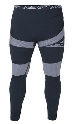 RST TECH X COOLMAX Pant/Leggings Base Layer Motorcycle Black/Grey Clothing