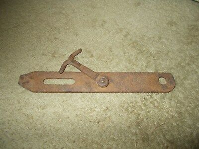 Vintage Cast Iron Barn Door Shed Latch Rustic Farm House Forged Blacksmith