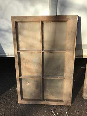 VINTAGE SASH WOOD WINDOW FRAME PINTEREST RUSTIC 27 x 22.5 DISTRESSED CHIPPY