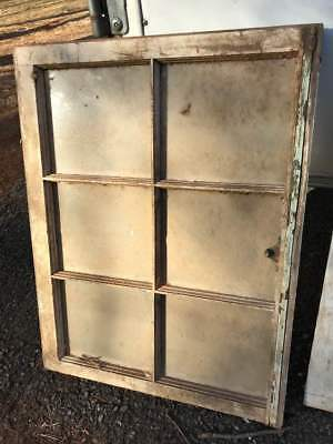 VINTAGE SASH WOOD WINDOW FRAME RUSTIC 28 x 33 DISTRESSED CHIPPY Wedding Decor