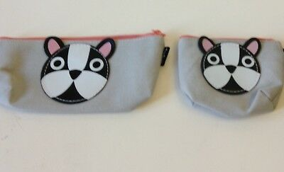Boston Terrier Change Purse And Makeup Bag