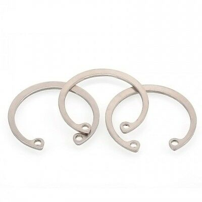 Ф28mm A2 304 Stainless Steel Internal Retaining Ring Circlip Snap Ring