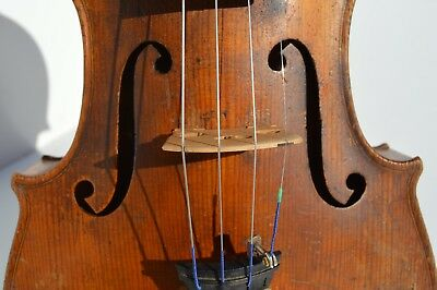 Nice Antique Copy Of Antonius Stradivarius Violin Made In Germany 4/4