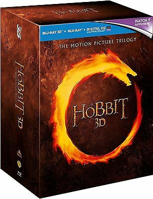 The Hobbit Trilogy Complete 3D Blu Ray Box Set 1 2 3 *new And Sealed*