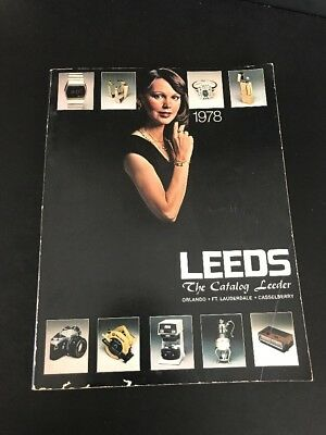 1978 - Leeds - The Catalog Leeder - Name Brand Merchandise At Afforable Prices