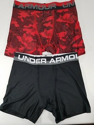 Under Armour Boys' Original Series Novelty BoxerJock Briefs Size S, M 1277181
