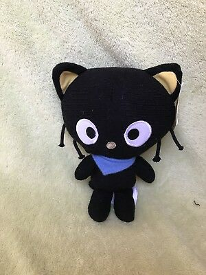 "Sanrio Hello Kitty 6"" Chococat Plush Doll New with Hang Tag from 2013"