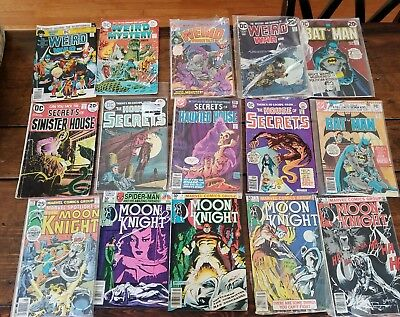 HUGE Lot of 74 DC MARVEL & INDEPENDENT Comic Books Bronze and Silver Age Comics