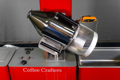 9 lbs Complete Commercial Coffee Roaster | 45 lbs Per Hour Capacity