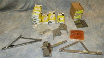 Lot Assorted Stanley Steel Door Hinges Hardware Store NOS Original Boxes c