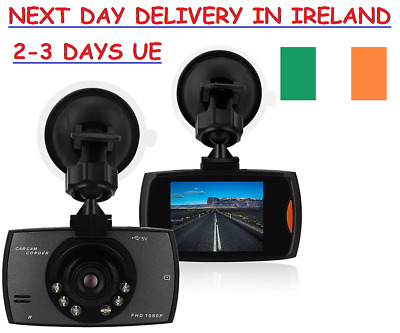 Car Dash Camera 2.4'' Screen Cam Recorder Night Vision Black Box DVR Dash Camera