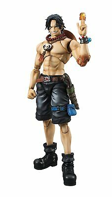 Megahouse Portrait.Of.Pirates × VAH ONE PIECE Portgas D Ace Japan Import NEW!!!
