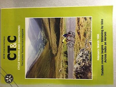 Cycle Touring Magazines 1995 1996