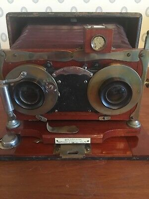 Anthony & Scovill Solograph Stereo Camera