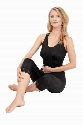 Compression Bodysuit Full Length, Post Liposuction, Breast Surgery (MGD_C)  - XS