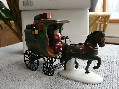 Dept 56 Dickens Village Series - The Fezziwig Delivery Wagon