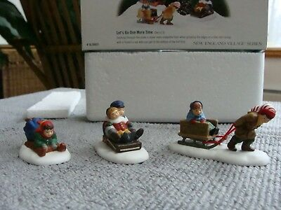 Dept 56 New England Village - Let's Go One More Time accessory