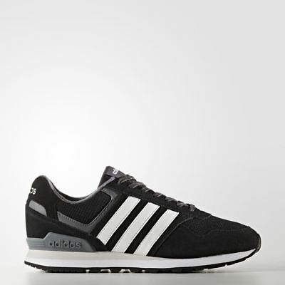 reputable site 5a0b4 5a71b Adidas Runeo 10K Black Bb9787 Mens Uk 6-11