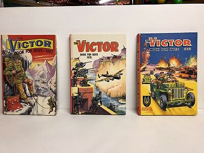 3 Victor Annuals (1967, 70 & 71) Very good condition