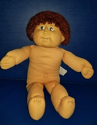 1986 Cabbage Patch Doll Auburn Hair Brown Eyes