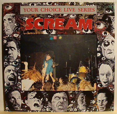 LP SCREAM - Your Choice Live Series  1991