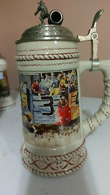 Coors Rodeo Clown Beer Stein