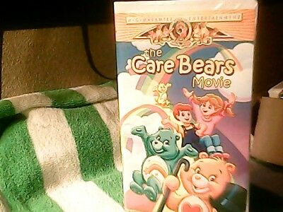 1985 The Care Bears Movie Vhs Tape In Clam Shell