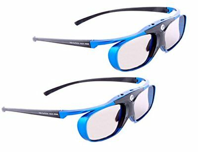 "2x ultimate DLP-Link glasses - DLP PRO 4G, ""Blue Heaven"" - lightweight, superbr"