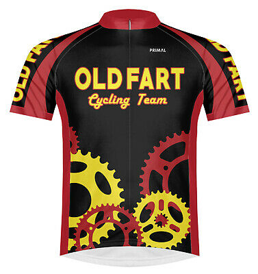 Primal Wear Old Fart Cycling Team Jersey Men's short sleeve bicycle bike + sox