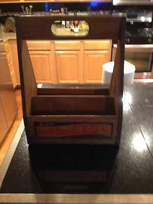 Old Pepsi Wood 6 Pack Carrier