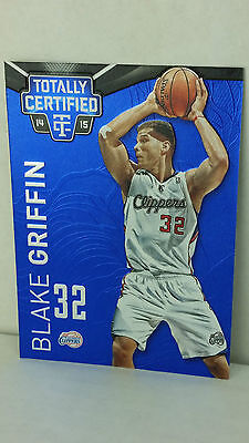 2014-15 Totally Certified Platinum Blue #18 BLAKE GRIFFIN /149 !! (Clippers)