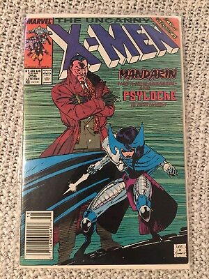 The Uncanny X-Men 256 First Appearance of Psylocke!