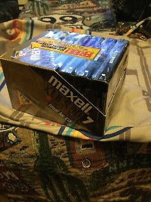 7 Maxell XLII S 90 High Bias Blank Audio Cassette Tapes New in Wrap.