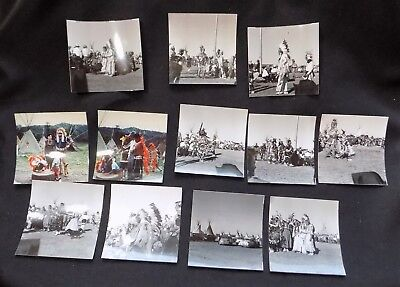 All American Indian Days REAL Photo LOT & Negatives Taken In 1953 RARE