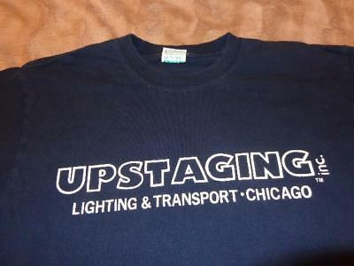 Shania Twain *Adult Large Concert Stage/Lighting Crew T-Shirt For 2003 UP! Tour!