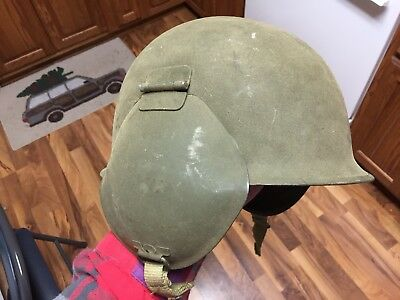 M3 Flak Helmet — USAAF 8th Air Force— EXCELLENT CONDITION!!!