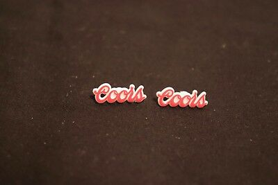 2 Vintage 1970's Coors Beer, Lapel Pins, Promo, Giveaway in excellent condition!