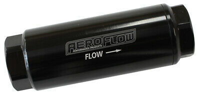 Aeroflow Performance 10 Micron Pro Filter with -8AN ORB Ports AF66-2042BLK-10