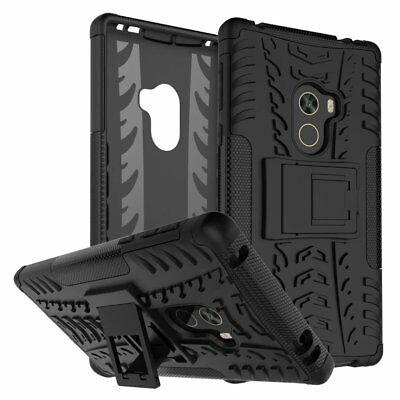 Rugged Shockproof Hybrid TPU Armor Silicone Stand Hard Case For Xiaomi Series