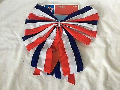 American Patriotic 4th of July Outdoor Decoration Bow Memorial Veterans Day  USA a21ce73b5