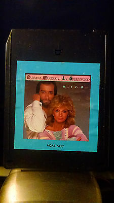 Barbara Mandrell/Lee greenwood Meant For Each Other 8-track