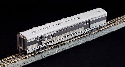 Kato silver streak zephyr #900 baggage car silver Light N scale From 106-0041