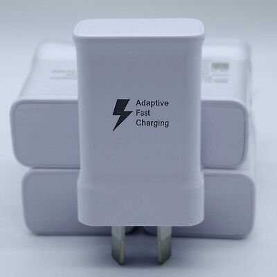 Adaptive Fast USB Wall Charger for Samsung Galaxy Note 1 2 3 4 5 6 7 8 Plus