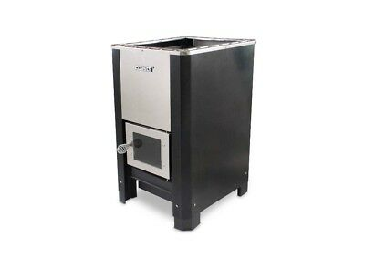 Wood Fired Heater Stove for Sauna full set with stainless steel Chimney