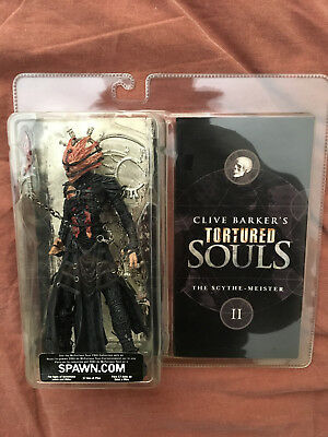 Clive Barker TORTURED SOULS The Scythe Master MC FARLANE TOYS