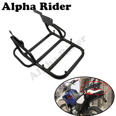 Rear Tail Rack Back Sheild Luggage Rack For Yamaha DT230 Black Off Road
