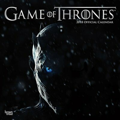 Game of Thrones 2018 Wall Calendar (New, Sealed)
