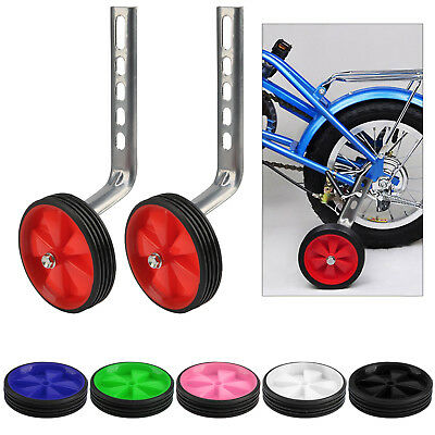 Universal Easy Fit Bicycle Stabilisers Training Colorful Wheels For Child Bike