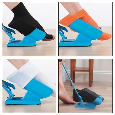 Sock Slider Helps Pregnant Woman Elderly Put Socks On Off No Bending Shoe Horn
