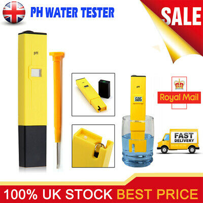 Digital pH Meter LCD TDS Water Purity PPM Filter Hydroponic Pool Tester Pen